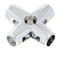 UNO 24/R-45 Соединитель 6-х труб усиленный хром