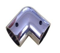 JOKER L-образное соединение для трубы d25 (хром)