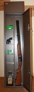 Оружейный сейф Г-1 на 2 ружья высотой до 1270 мм