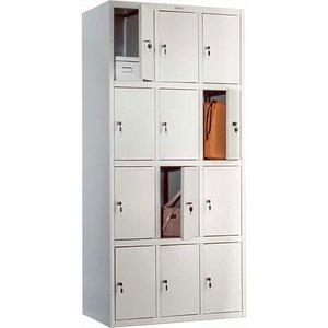 Шкаф для раздевалки ПРАКТИК LS-34